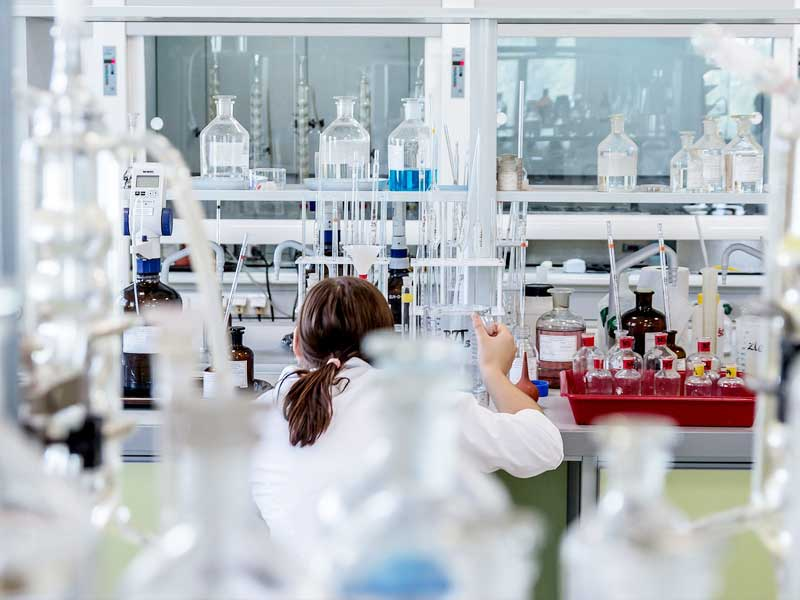 Pigmentos en el sector farmacéutico.